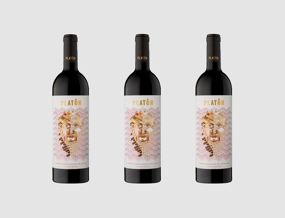 Oferta 3 Botellas Platón